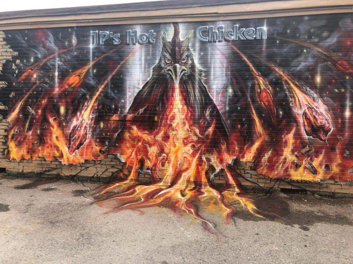 Oak Grove man paints region with murals