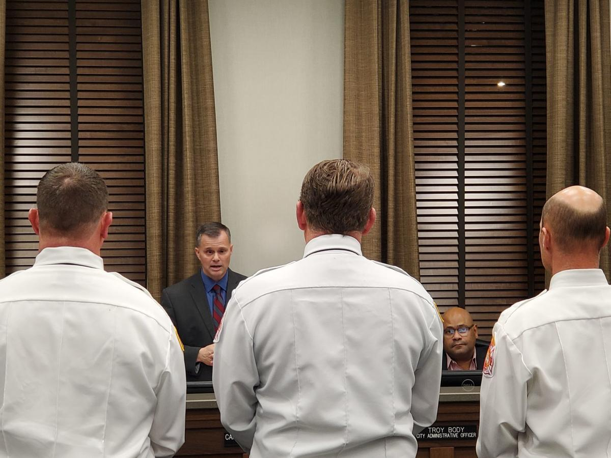 Hopkinsville mayor presides over last city council meeting