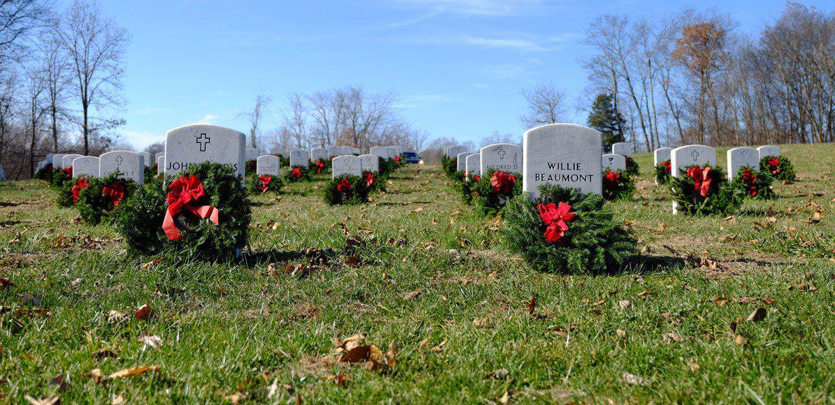Group is raising funds to place wreaths at veterans cemetery