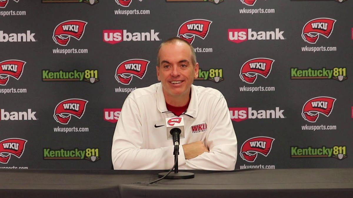 WKU VB: HC Travis Hudson Press Conference (10/14/19)