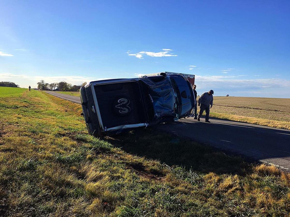 Driver injured in single-vehicle wreck