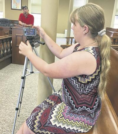 The 'face' behind court's Facebook Live