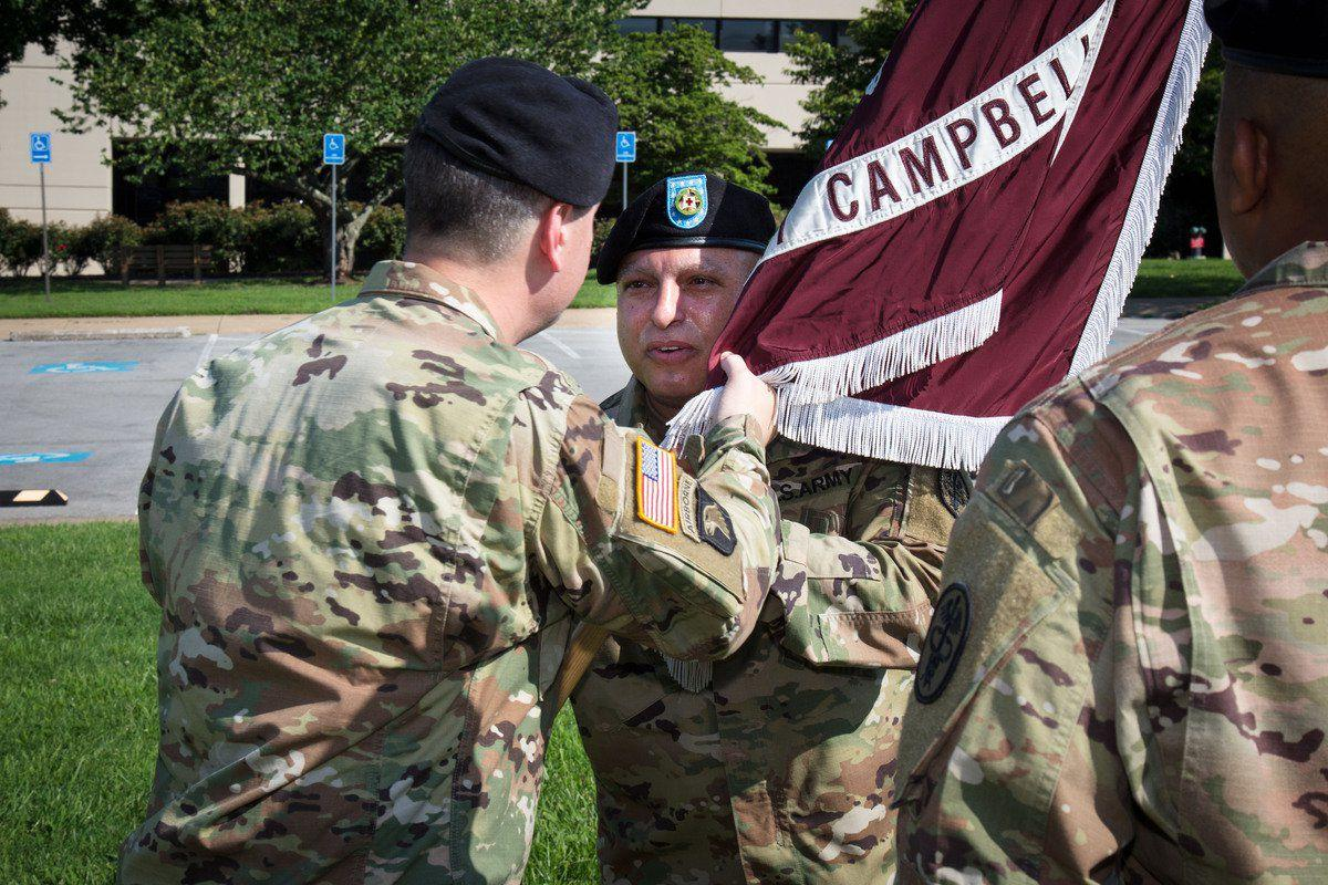 Hospital welcomes command sergeant major