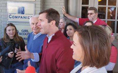 Beshear, Democratic candidates make election stop in Hopkinsville