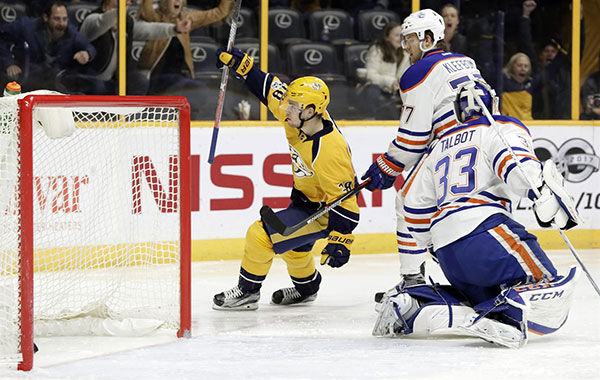Predators re-sign Arvidsson to $29.75 million, 7-year deal