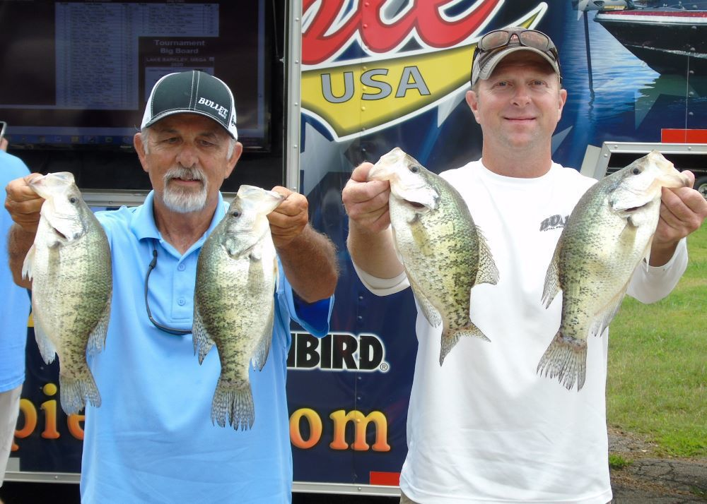 Crappie USA Lake Barkley Mega Bucks Second Place