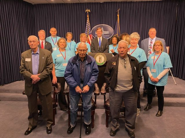 Local WWII veterans commissioned as Kentucky Colonels -- photo 1