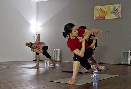 new hot yoga studio opens at indian hills shopping center