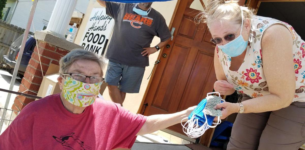 Food Bank mask delivery