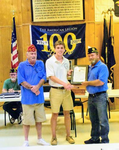 Cogbill first in 40 years to represent Post 233 at Boys Nation