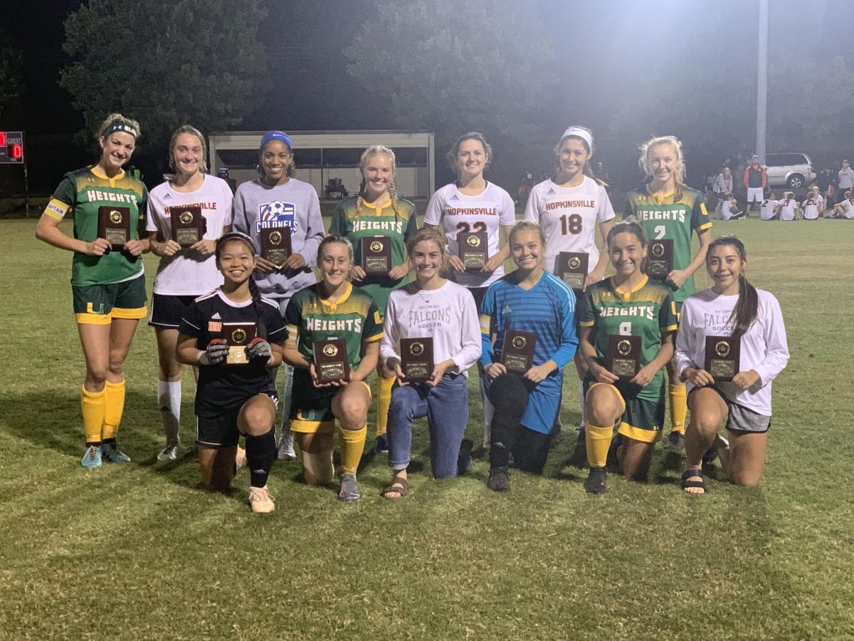 All-8th District Girl's Soccer Team