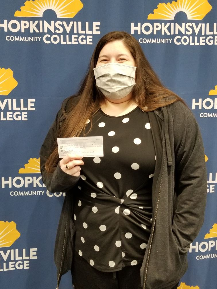 HCC student receives first scholarship named in memory of literacy council director