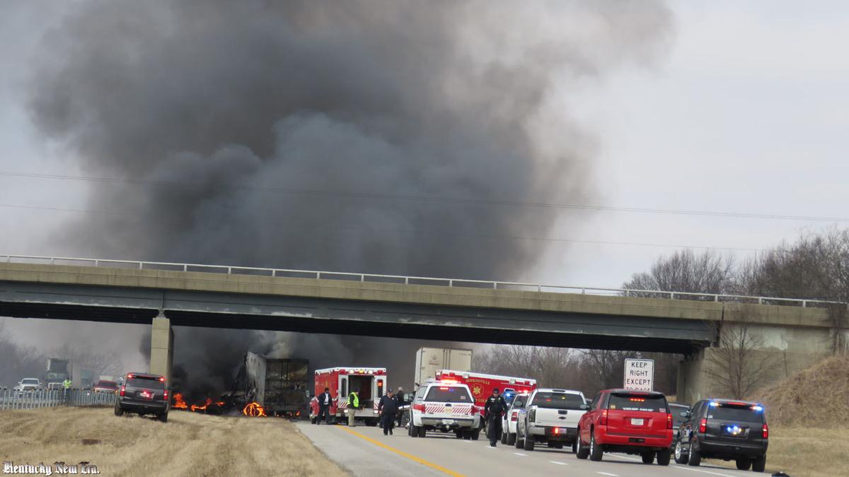 Iowa sisters killed in fiery I-24 tractor-trailer accident