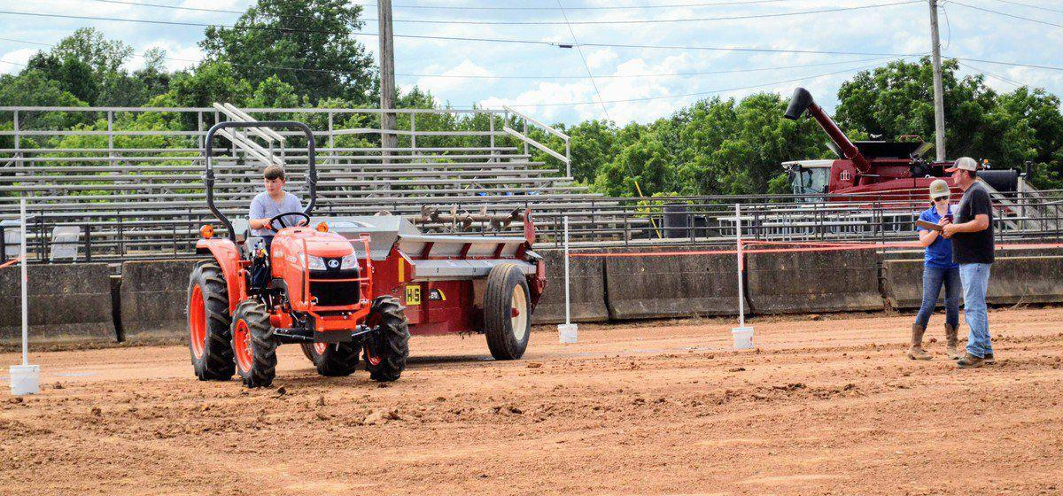 Tractor-driving teens compete for trophies, cash