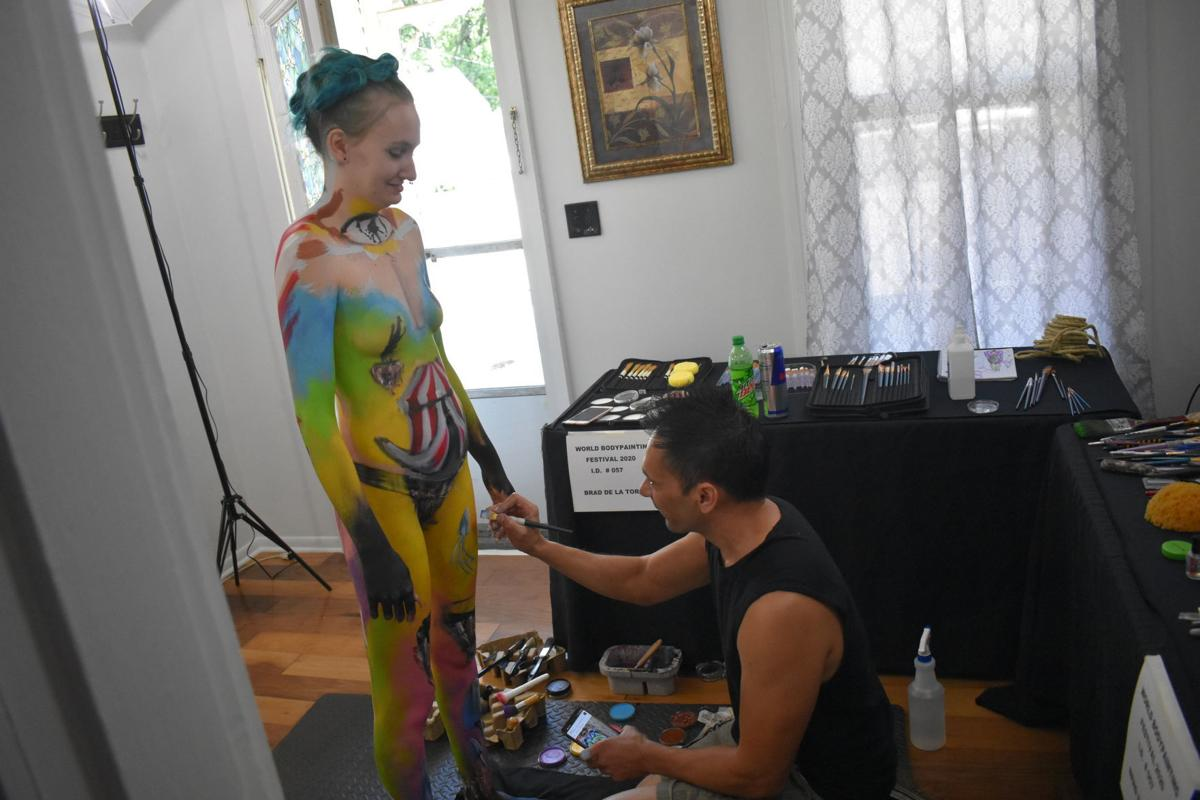 Local Artist And Model Compete In World Bodypainting Festival News Kentucky New Era