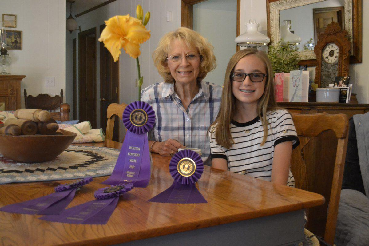 Grand duo earns 94 blue ribbons at fair