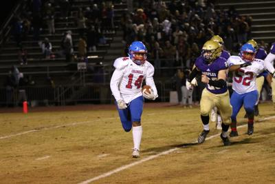 Colonels fall to Purples in playoffs