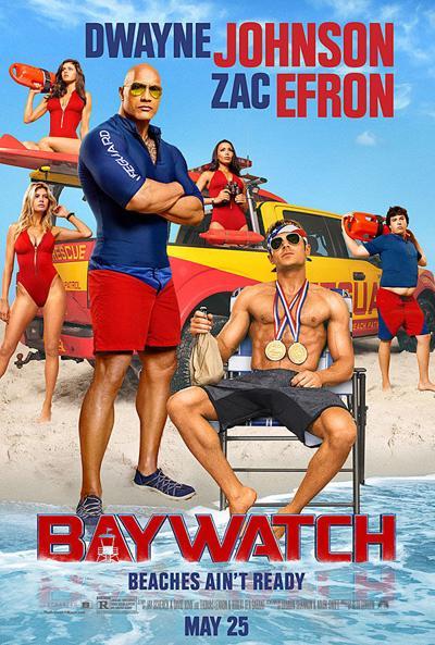 """""""Baywatch"""" movie poster"""