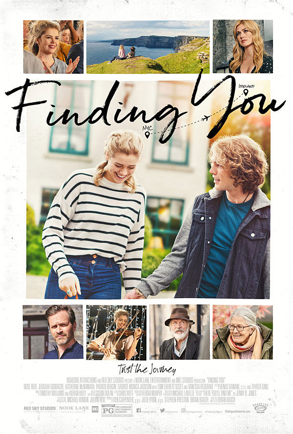 """""""Finding You"""" movie poster"""