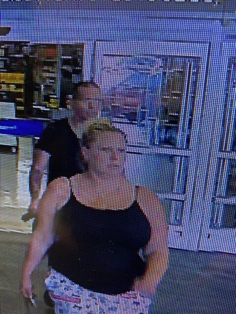 Pair sought in connection to recent theft cases