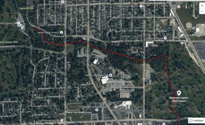 Kokomo Creek sewage leak