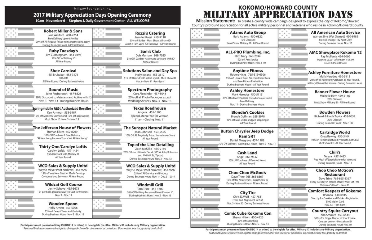 80 businesses take part in Military Appreciation Days | News ...