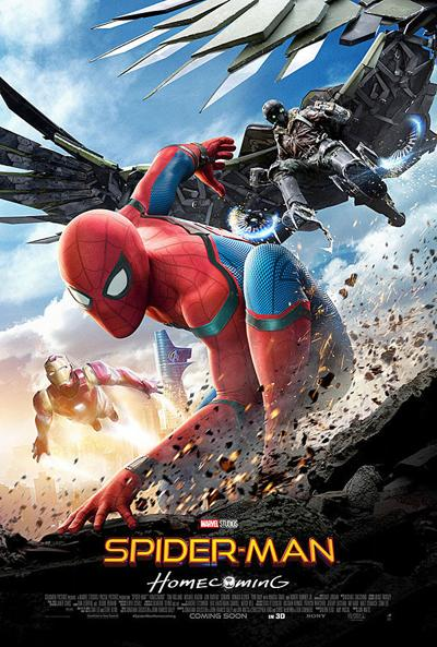 """""""Spider-Man: Homecoming"""" movie poster"""