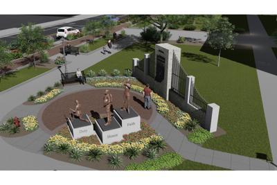 Women's legacy memorial rendering