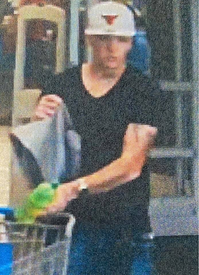 Suspect sought in connection with auto theft
