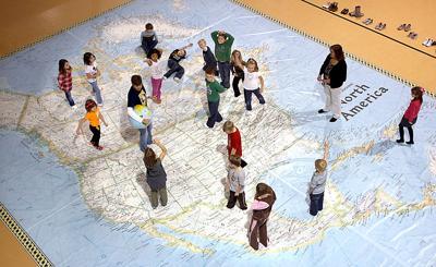 Map at Northwestern