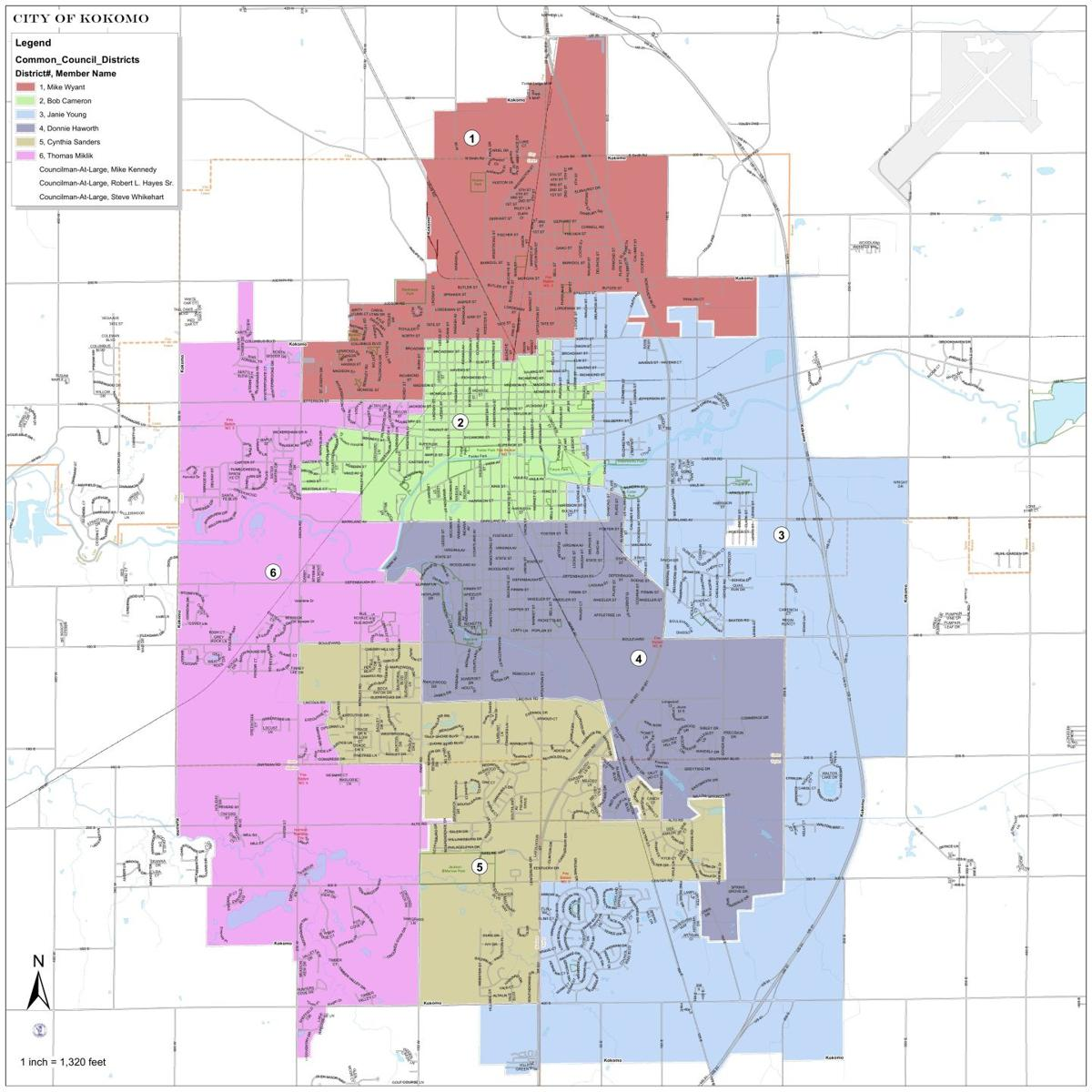 Common Council map