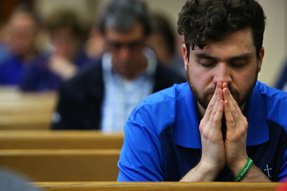 A day of prayer: Large crowd gathers to offer prayers for