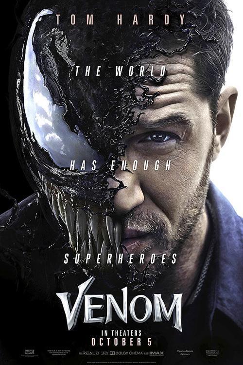 """Venom"" movie poster     kokomotribune.com"