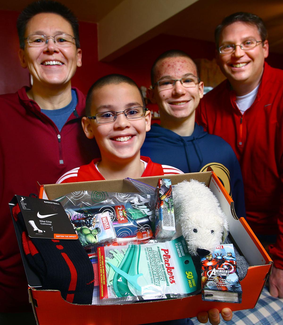 Christmas Shoebox Project 2021 Kokomo Boy Starts Christmas In A Shoebox Project To Help Peers News Kokomotribune Com