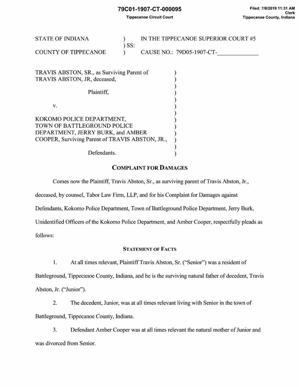 Abston lawsuit