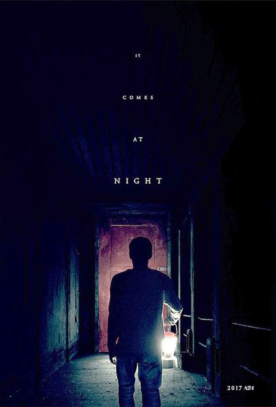 """""""It Comes at Night"""" movie poster"""