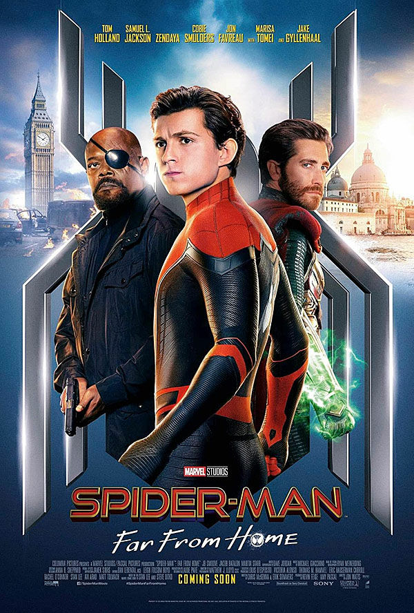 """Spider-Man: Far From Home"" movie poster"