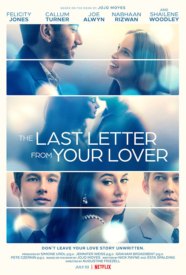 """""""The Last Letter From Your Lover"""" movie poster"""