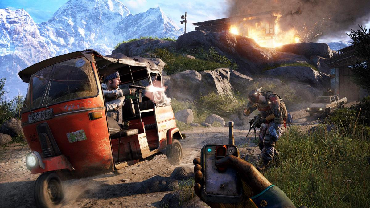 Game Review Far Cry 4 Climbs To Wild Heights Features