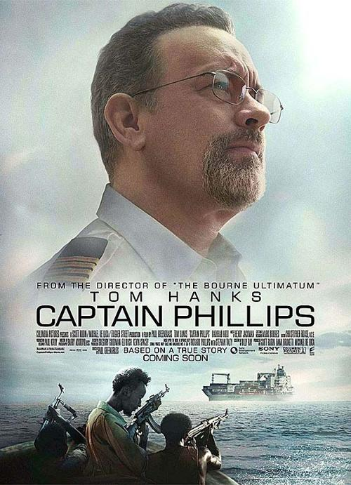"Captain Phillips"" movie poster 