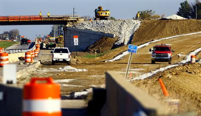 Construction at U.S. 31 and Indiana 28
