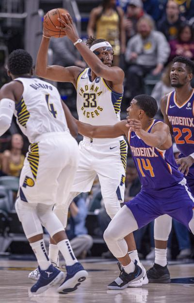 Suns Pacers Basketball