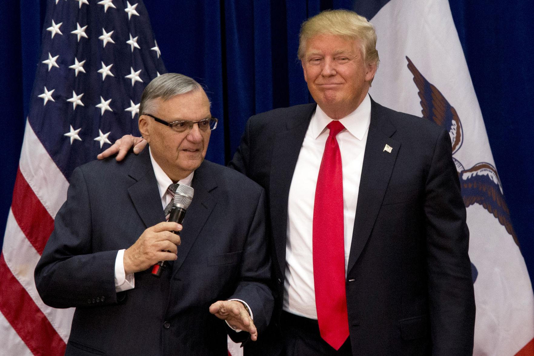 Trump defends pardon of former Arizona sheriff Joe Arpaio