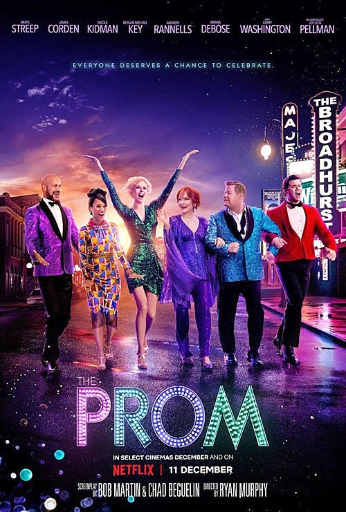 """""""The Prom"""" movie poster"""