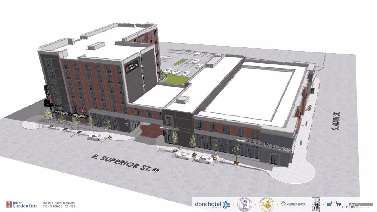 Downtown Hotel And Conference Center Rendering Video | | Kokomotribune.com