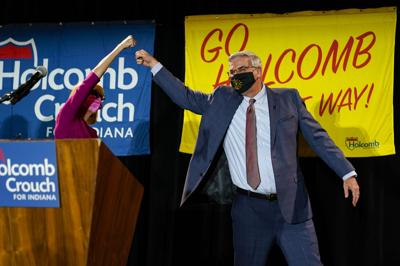 Election 2020 Indiana Governor Holcomb