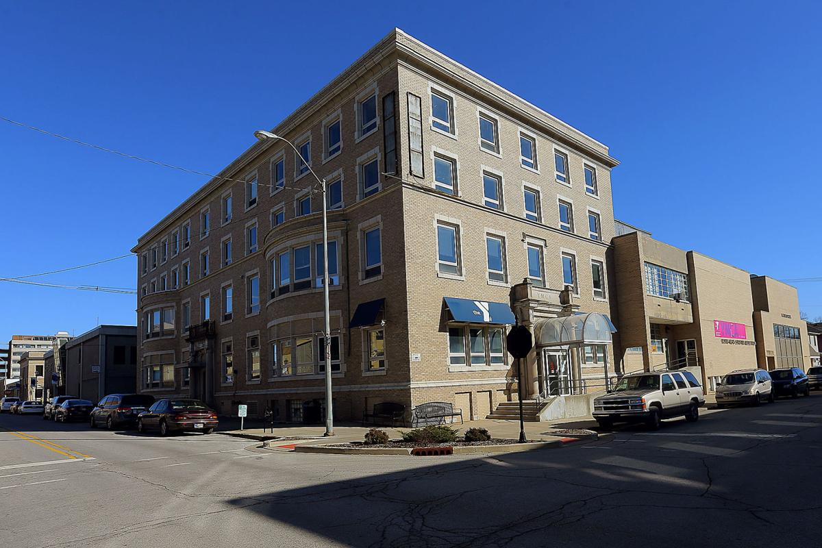 small old apartment building. Old YMCA Former to be redeveloped into apartment building  Local news