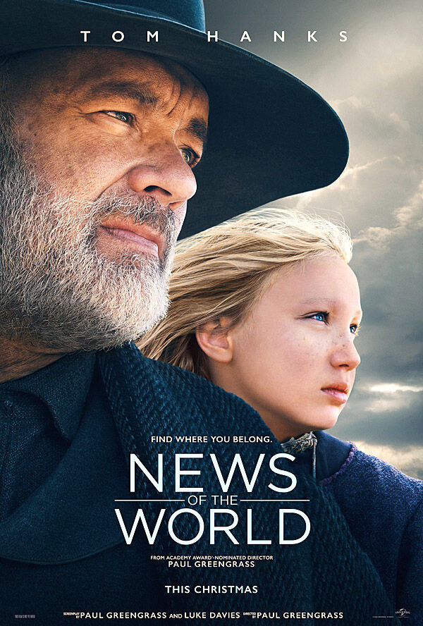 """News of the World"" movie poster"