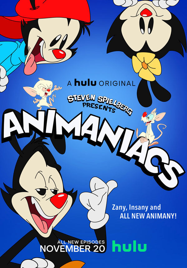 """Animaniacs"" movie poster"