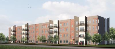 Rendering for The Annex Group's North Washington Street development